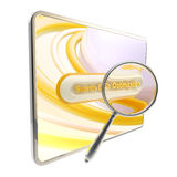 Search engine optimization icon isolated Royalty Free Stock Images