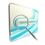 Search engine optimization icon isolated Royalty Free Stock Photography