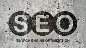 Search engine optimization mark royalty free stock photography