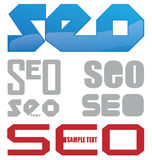 Search Engine Optimization project. Symbol  project set Stock Photos