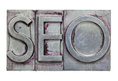 Search engine optimization) -SEO Royalty Free Stock Photo