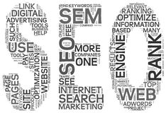 Search engine optimization SEO concept Royalty Free Stock Photo