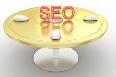 Search engine optimization , seo illustration Royalty Free Stock Photography