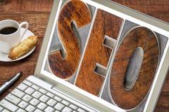 Search engine optimization - SEO Royalty Free Stock Photos