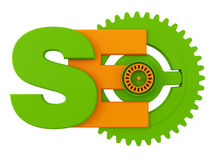Search Engine optimization symbol Royalty Free Stock Photography