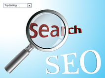 Search engine optimizer Stock Photo