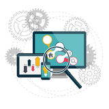 Search Engines Optimization Concept Vector Stock Images