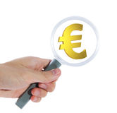 Search for euro Stock Image