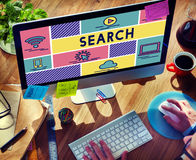 Search Find Data Exploration Browsing Concept Stock Images