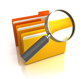 Search in folders Stock Images
