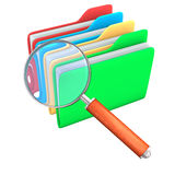 Search Folders Stock Photo
