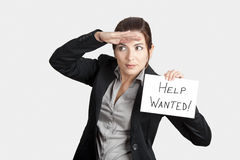Search for Help Royalty Free Stock Photos