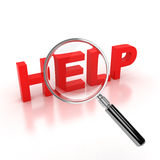 Search for help icon Stock Photography