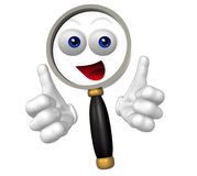 Search icon character Royalty Free Stock Photo