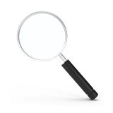 Search Icon Magnifying Glass  on white Stock Photo