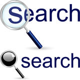 Search icon. Stock Image
