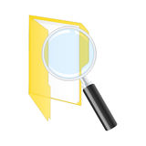 Search icon. Royalty Free Stock Photos