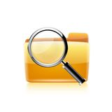 Search icon. Vector Stock Photo