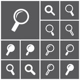 Search icons Royalty Free Stock Image