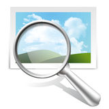 Search image Royalty Free Stock Image