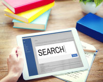 Search Internet Browse Information SEO Concept Stock Image