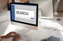 Search Internet Browse Information SEO Concept Stock Images