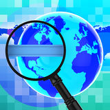 Search Internet Means World Wide Web And Analysis Stock Images