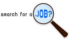 Search for a job Stock Image
