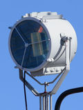 Search Light. Ships search light over blue sky Stock Images