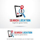 Search Location Logo Template Design Vector Stock Images