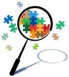 Search logo Royalty Free Stock Photos