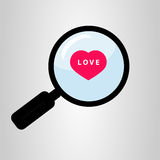Search for love Stock Photography