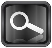 Search and magnifier icon Stock Photo