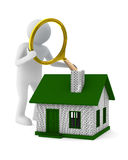 Search new house Stock Photography