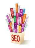 Search optimization concept Royalty Free Stock Photos