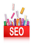 Search optimization concept Royalty Free Stock Photo