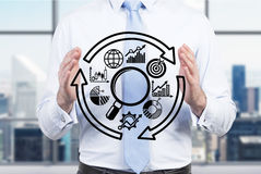 Search partner schem Stock Photo