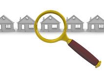 Search and purchase real estate. Concept Royalty Free Stock Image