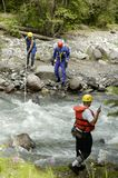 Search & Rescue 7. A search and rescue team on duty in the Rocky Mountains Stock Photos