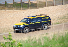 Search and rescue coastguard vehicle Royalty Free Stock Images