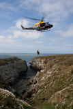 Search and Rescue Exercise Stock Photography