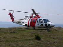 Search and rescue helicopter Stock Photography