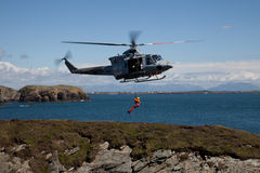 Search and Rescue Training Stock Image