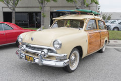 Search ResultsFord Country Squire on display. Torrance, USA - May 5 2017: Search Results Royalty Free Stock Photo