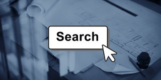 Search Searching Finding Looking Optimisation Concept Royalty Free Stock Photos