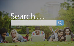 Search Seo Online Internet Browsing Web Concept Royalty Free Stock Image