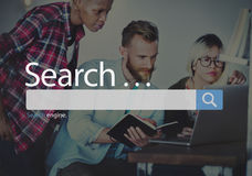 Search Seo Online Internet Browsing Web Concept Stock Images