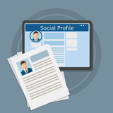 Search Social Profile Stock Images