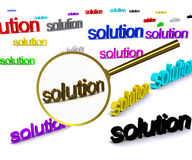 Search solution Stock Photo