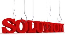 Search of solution. business concept Stock Photo